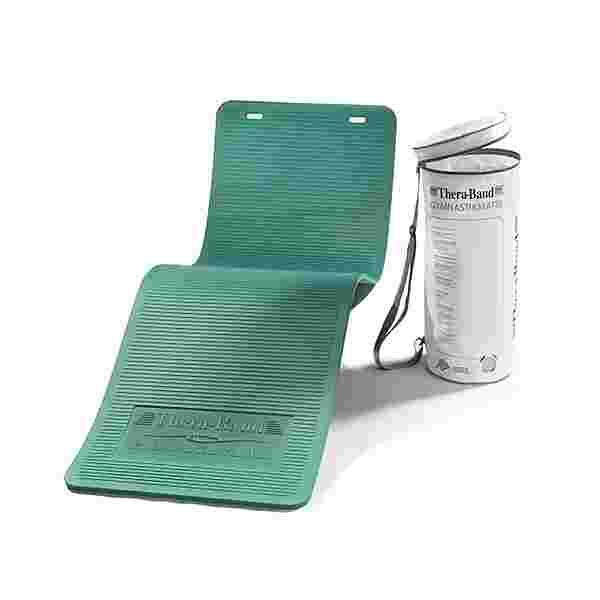 TheraBand Gymnastikmatte in Reißverschlusstasche Matte grün