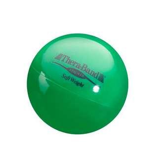TheraBand Gewichtsball Fitnessgerät grün