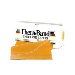 TheraBand Übungsband 5,50 m Gymnastikband max. stark-gold