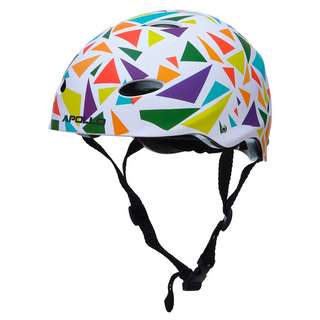Apollo Skatehelm mit Design Skate Helm Triangle