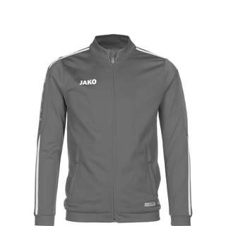 JAKO Striker 2.0 Trainingsjacke Kinder grau / weiß