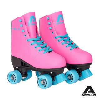 Apollo Classic Roller Disco Rollschuhe Funky Pink