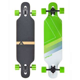 Apollo Bikini Longboard grün/weiß