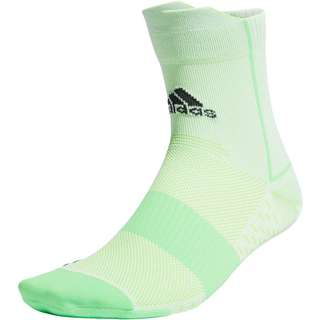 adidas runadizero Laufsocken white-screaming green