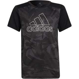 adidas DESIGNED2MOVE AEROREADY PRIMEGREEN Funktionsshirt Kinder black-white