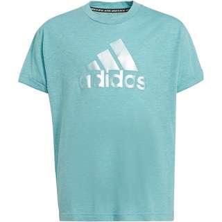 adidas FUTURE ICONS T-Shirt Kinder mint tone mel-mint ton