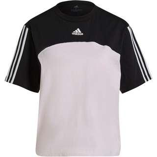adidas SPORT ESSENTIALS T-Shirt Damen black-clear pink