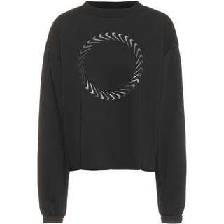 Nike NSW Icon Clash Sweatshirt Damen black-dark smoke grey