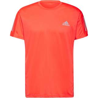 adidas own the run Funktionsshirt Herren app solar red