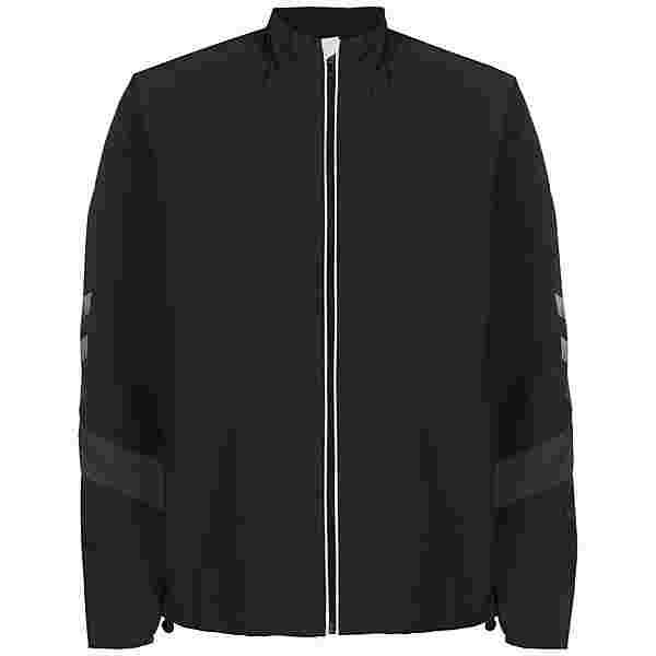 hummel hmlLEAD Trainingsjacke Herren schwarz / weiß