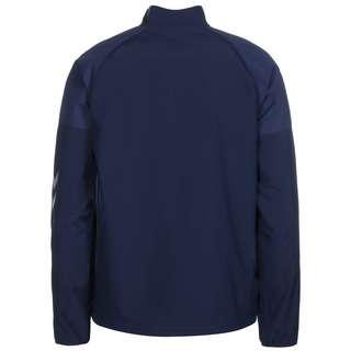 hummel hmlLEAD Trainingsjacke Herren blau / weiß