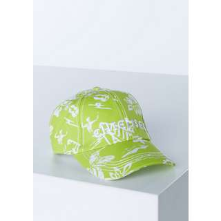 Chiemsee Cap Cap White/L Grn AOP