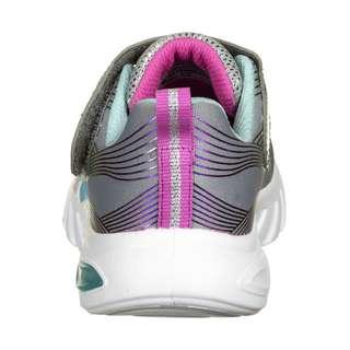 Skechers Glow Brites Sneaker Kinder grau / bunt