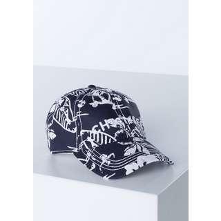 Chiemsee Cap Cap Wht/Dk Blue AOP
