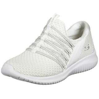 Skechers Ultra Flex Bright Future Sneaker Damen weiß