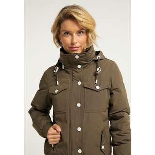 Icebound Winterjacke Damen Militär Oliv