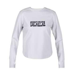 MOROTAI Active Dry Sweatshirt Longsweat Damen Hellgrau