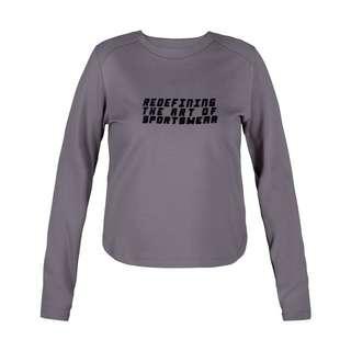 MOROTAI Active Dry Sweatshirt Longsweat Damen Dunkelgrau