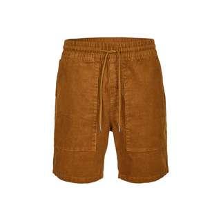 Cleptomanicx Healer Shorts Shorts Herren Caramel Cafe