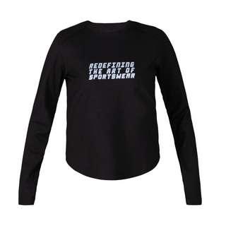MOROTAI Active Dry Sweatshirt Longsweat Damen Schwarz