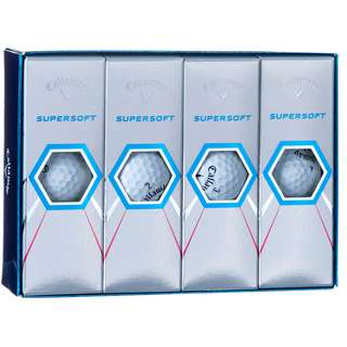 Callaway SUPERSOFT Golfball wht