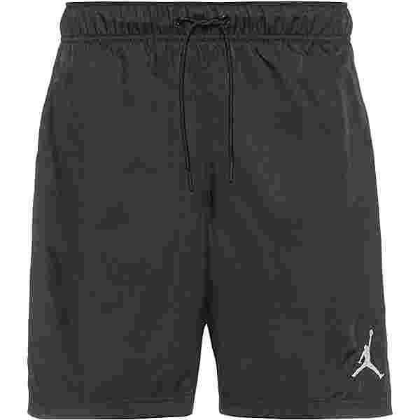 Nike Jumpman Poolside Badeshorts Herren black-white