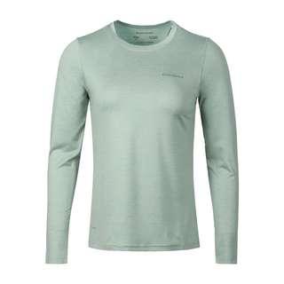 Endurance Maje Melange Langarmshirt Damen 3102 Blue Haze