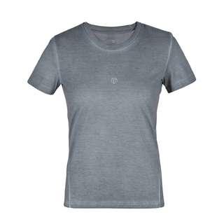 MOROTAI Washed Out Tee T-Shirt Damen Steel Grey