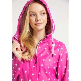 MYMO Regenjacke Damen Pink Aop
