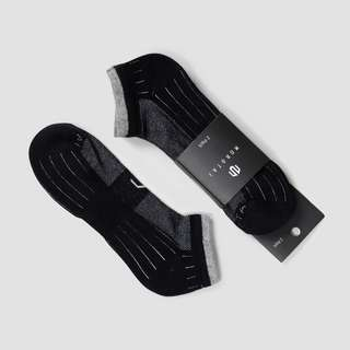 MOROTAI Performance Ankle Socks (2 Paar) Sportsocken Schwarz