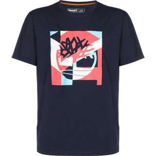 TIMBERLAND Photo T-Shirt Herren blau