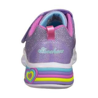 Skechers Sweetheart Lights Sneaker Kinder violett / bunt
