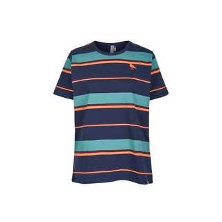 Cleptomanicx T-Shirt Damen Dark Navy