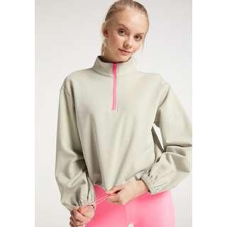 MYMO Sweatshirt Damen Grau Olive