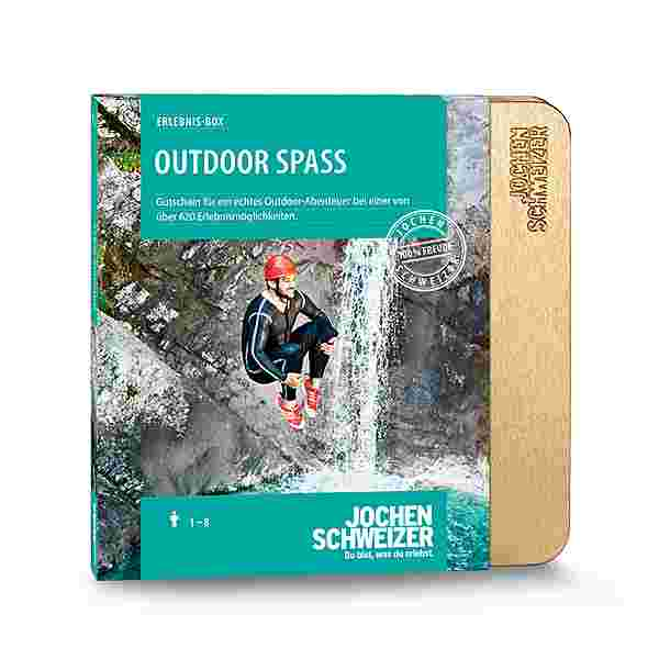 Jochen Schweizer Outdoor Spaß Geschenkbox mehrfarbig