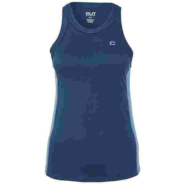 CLN Athletics Trix 2.0 Funktionsshirt Damen Titan blue