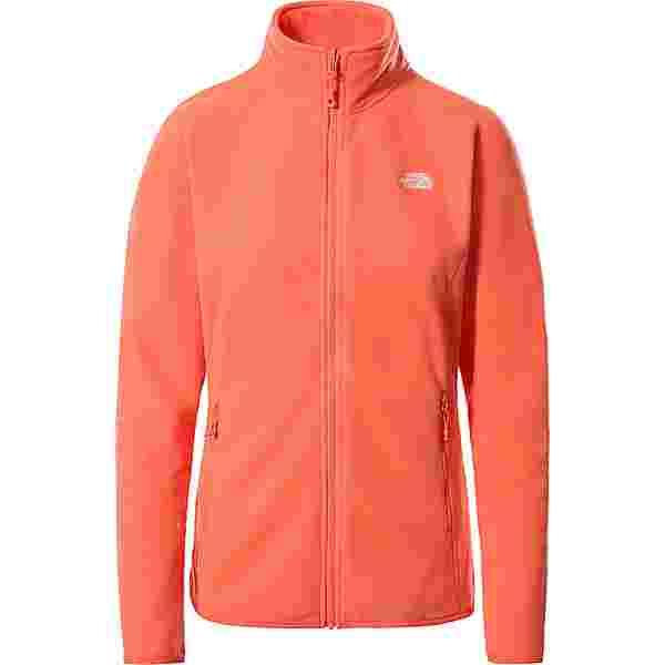 The North Face 100 GLACIER Fleecejacke Damen emberglow orange
