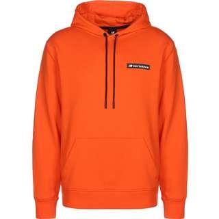 NEW BALANCE MT03526 Hoodie Herren orange