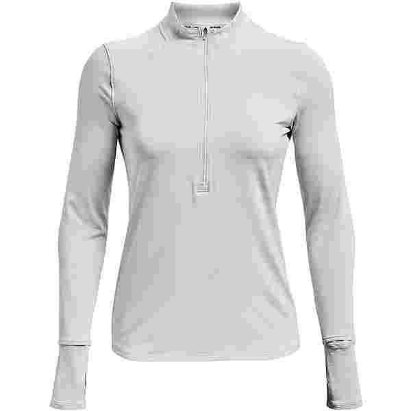 Under Armour Qualifier Run 2.0 Funktionsshirt Damen halo gray full heather