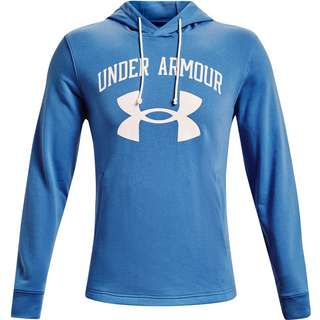 Under Armour Rival Hoodie Herren river -onyx white