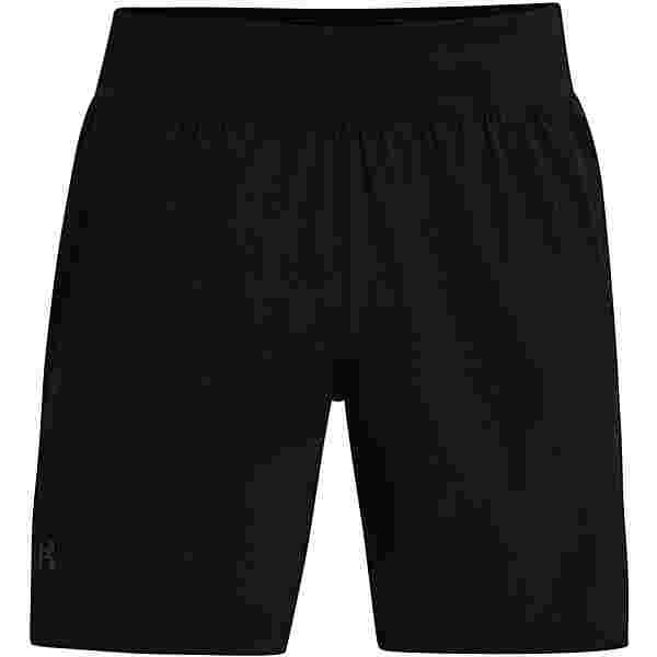 Under Armour Speed Pocket Laufshorts Herren black-black-reflective