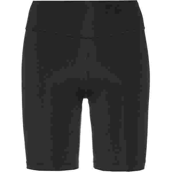 Nike Swoosh Run Radler Tights Damen black-reflective silv