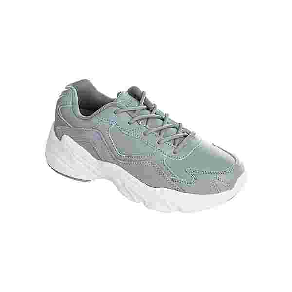 Athlecia CHUNKY Leather Trainers Sneaker Damen 1004 Pearl Grey