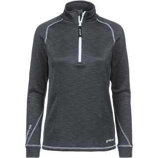 Whistler BARTLETT MELANGE Funktionssweatshirt Damen 1011 Dark Grey Melange