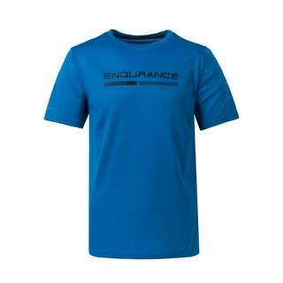 Endurance VENIES M S-S Tee Laufshirt Herren 2146 Directoire Blue
