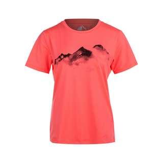 Whistler ELISE W o-neck Printed Printshirt Damen 4073 Pitaya Pink
