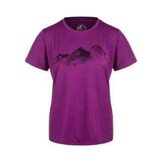 Whistler ELISE W o-neck Printed Printshirt Damen 4044 Grape Juice