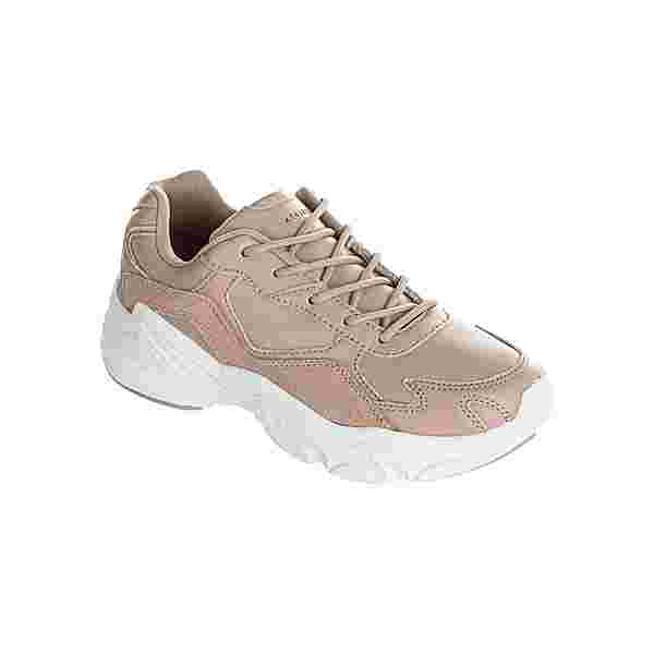 Athlecia CHUNKY Leather Trainers Sneaker Damen 1057 Nude