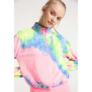 MYMO Sweatshirt Damen Pink Mehrfarbig