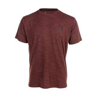 Virtus JOKER M S/S Tee Printshirt Herren 4181 French Bordeaux